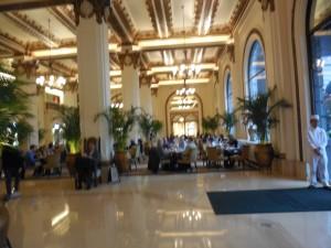 Interior of Peninsula Hotel Kowloon