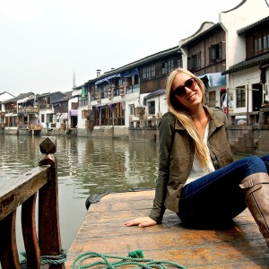 Boat ride at Zhujiajiao