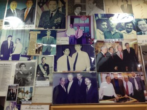 Clients of Sam's inlude Prince Charles and Colin Powell