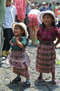 Very cute Guatemalan girls