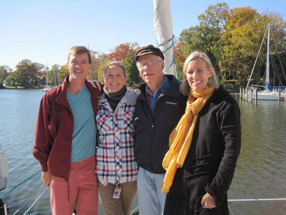 Dad's 80th birthday celebration in Annapolis